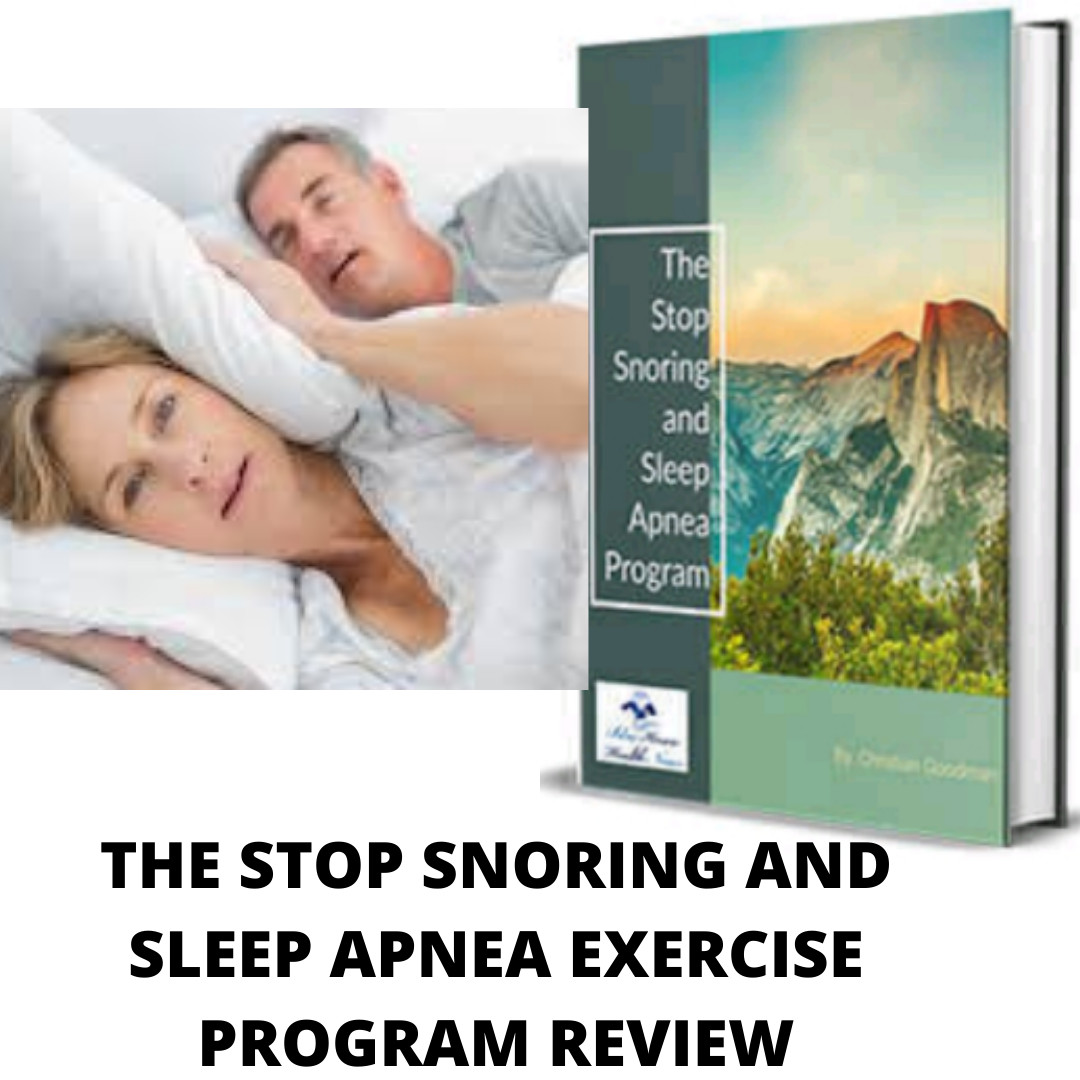 The Stop Snoring And Sleep Apnea Exercise Program review-Is this another scam?