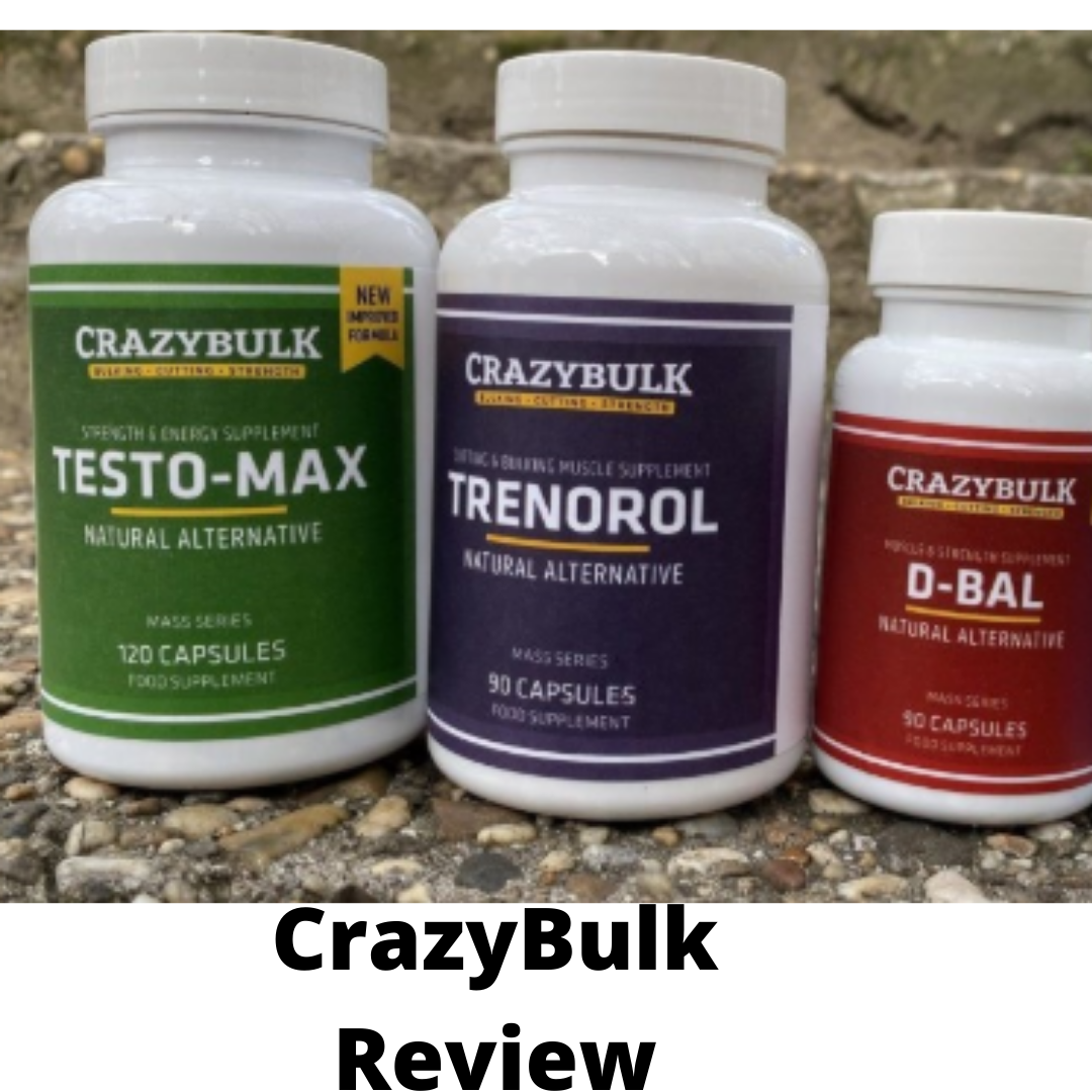 Crazy Bulk supplement review-The truth Exposed