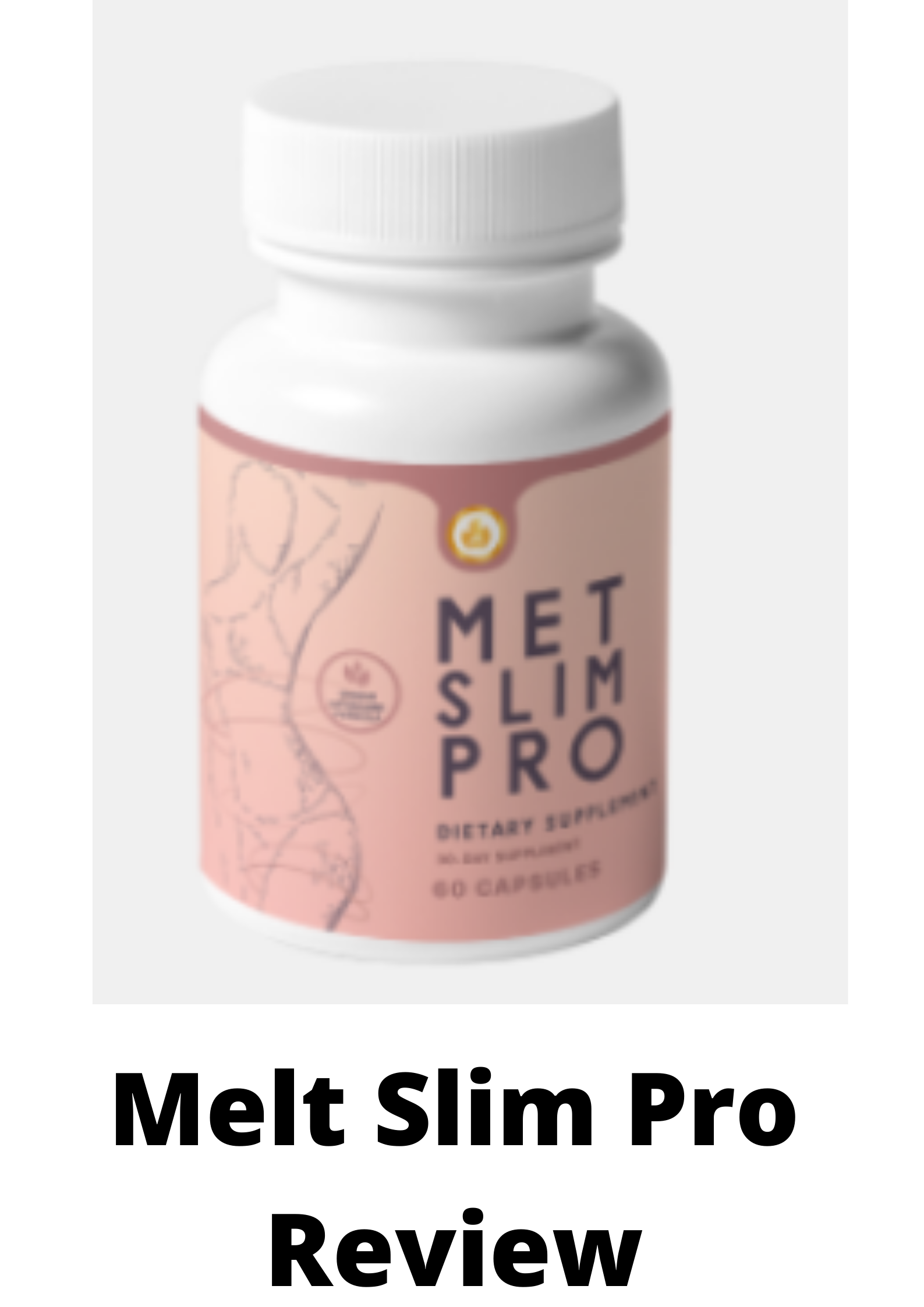 METASLIM PRO REVIEW-The Truth Exposed Finally