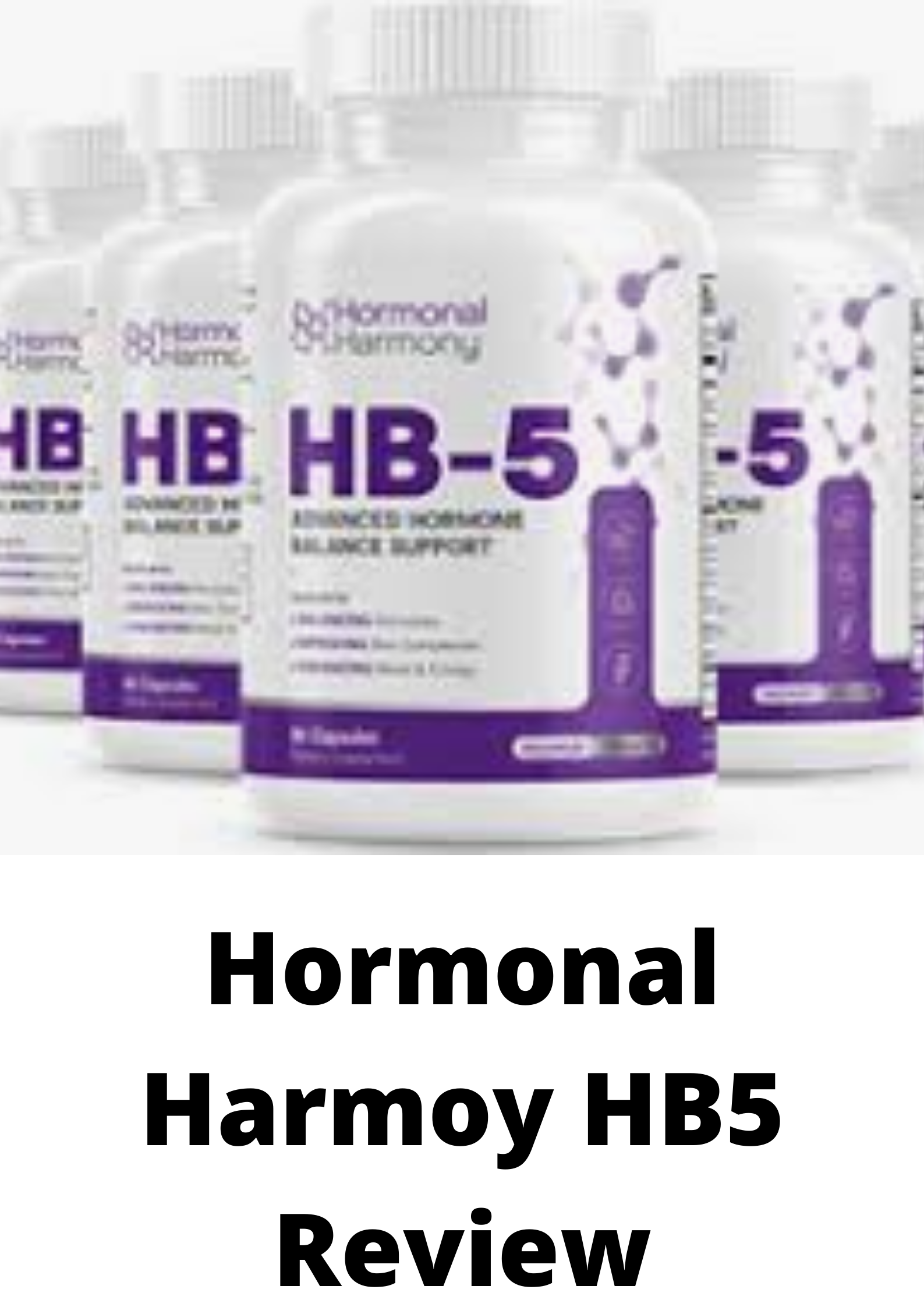 Hormonal Harmony HB5 Review-The Truth Exposed