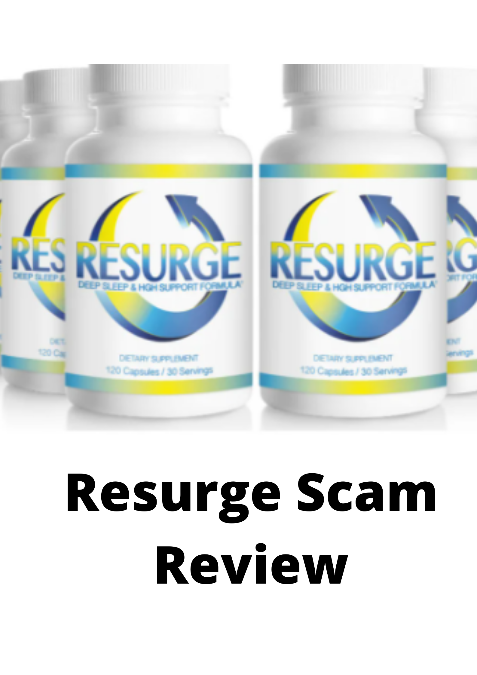 Resurge Scam Review (updated) 2021-Real customer reviews