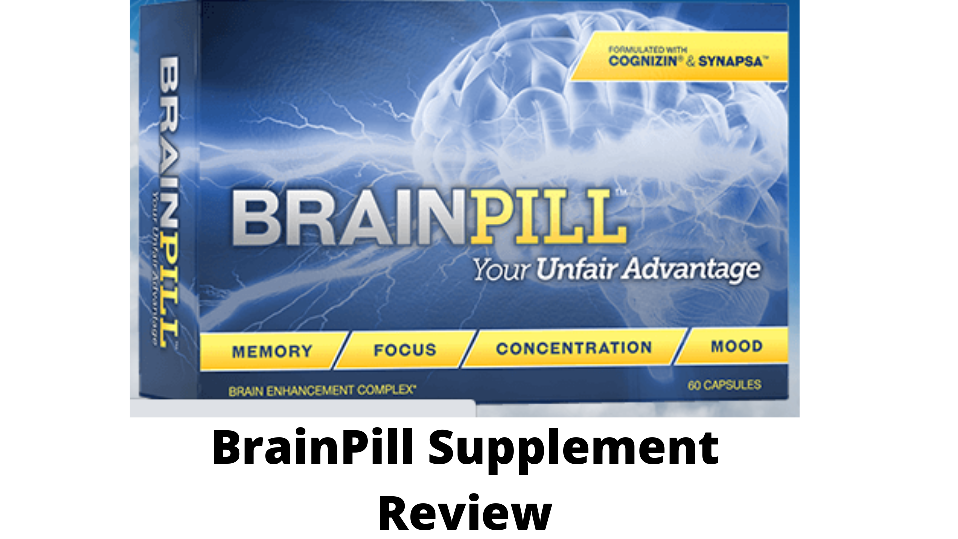 BrainPill Review-Is this Nootropic supplement work?