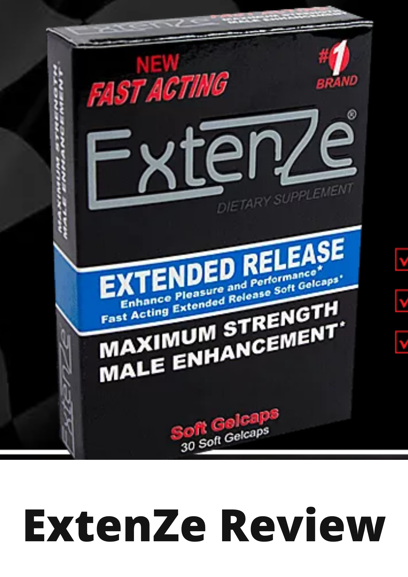 Extenze Pill Review-Should you be careful of this pill?