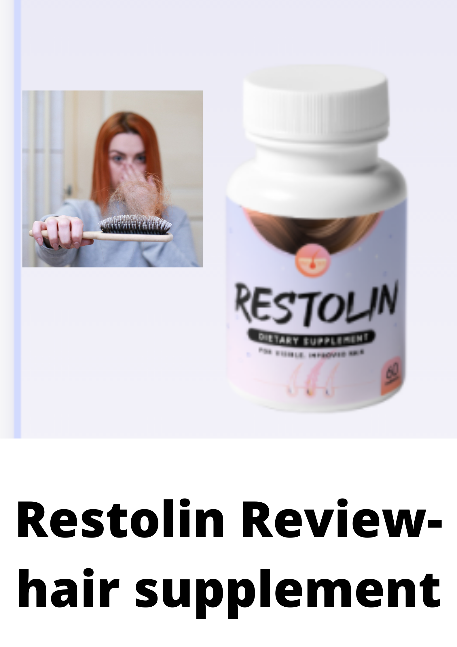 Restolin Review-Is this a hair scam?